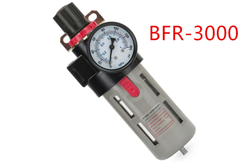 BFR3000 G3/8'' TAC type Air pressure regulating filter BFR-3000 filter pressure regulator valve BFR 3000 oil-water separator стоимость