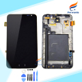 100% New tested for Samsung Galaxy Note N7000 i9220 Lcd Screen Display with Touch Digitizer frame Assembly 1 piece free shipping