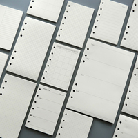 A4 B5 45 листов ежемесячно/еженедельно/делать filofax бумаги, бумаги для планирования заправки, A4 инженерные чертежные бумаги