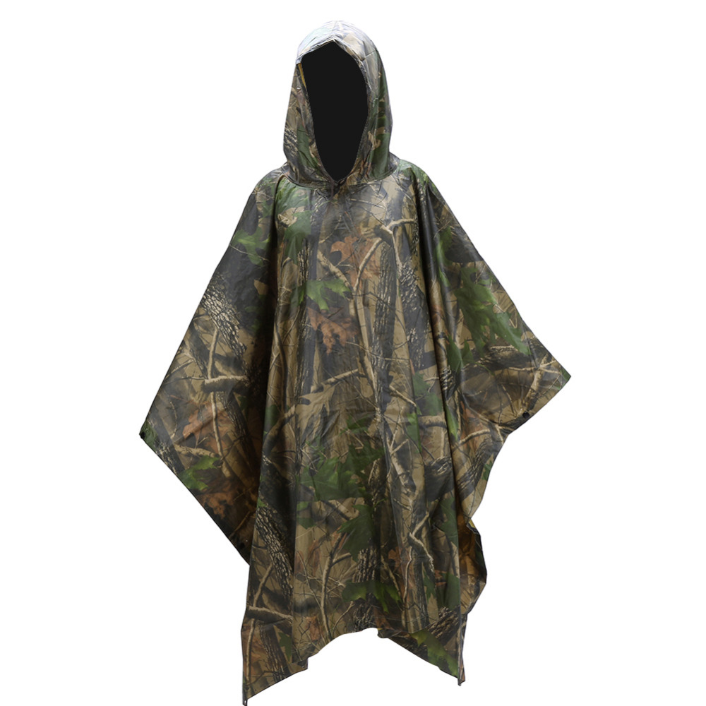 Sports & Entertainment Energetic 3 In 1 Multifunctional Raincoat Outdoor Travel Rain Poncho Rain Cover Waterproof Tent Awning Camping Hiking Sleeping Bag Matching In Colour