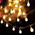 New 3m 30 LedBall Led  String Light Christmas Battery Powered Fairy Indoor Outdoor Lighting Garlands Festival Decor Garden Light