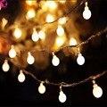 Nueva 3 m 30 LedBall Led Navidad Luz de la Secuencia Con Pilas de Hadas de Iluminación Interior y Exterior Guirnaldas Festival Luz Decoración Del Jardín