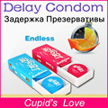 Delay Condoms 16pcs/lot More 45 Mins Sex Love Delay Cream Factor Long lasting Latex Condoms Sex Toy For Male Condoms