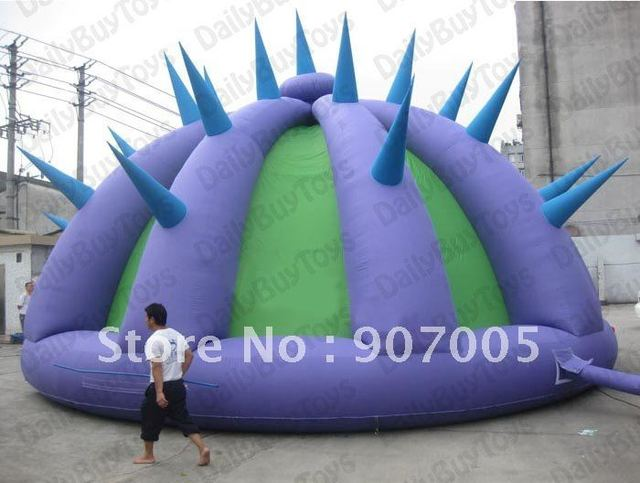 "TT14 New Inflatable tent marquee tine  tent decoration/inflatable igloo tent with ""wolf tooth""  +CE/UL blower + Repair Kits"