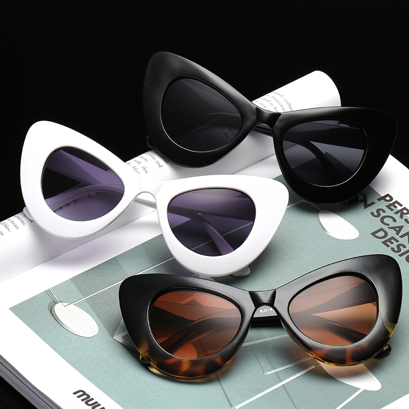 0f49fdcbe65ad A17  Olho de gato Óculos De Sol 2018 Popular Sexy Moda Das Senhoras ...