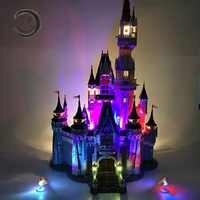 Led Light Kit For Building City Street 71040 16008 Cinderella Princess Castle Model Blocks Creator Street Light Set