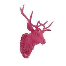 Если Европейская мода голову оленя висит бар животных стерео росписи стены украшения ремесла