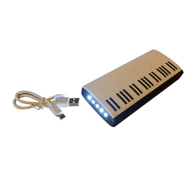 100% Marca Nova Venda Manufactory Bateria Externa Dupla USB 12000 Mah Banco de Potência Portátil Tablet para o Transporte Livre