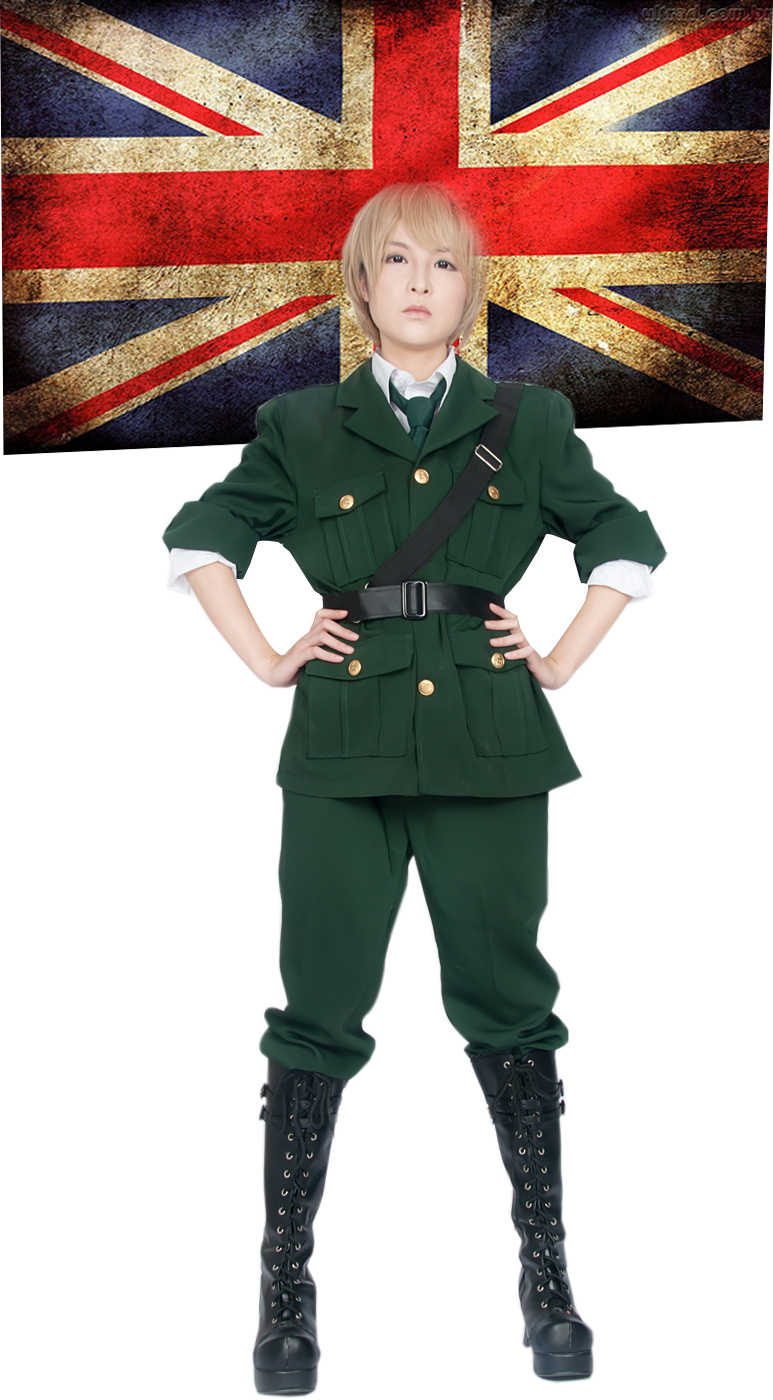 Free Shipping Axis Powers Hetalia England Arthur Kirkland Uniform Anime Cosplay Costume