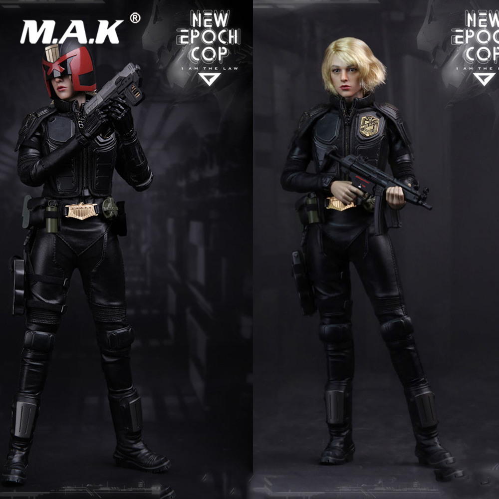 1/6 New Full Set Action Figure VTS TOYS VM-013 Girl Judge Dredd Epoch Cop Collectible Doll for Gift