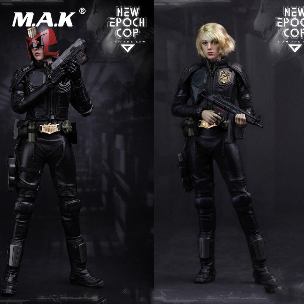 1/6 новый полный набор фигурку игрушки VTS VM 013 девушка Судья Дредд Epoch Cop Коллекционная кукла для подарка