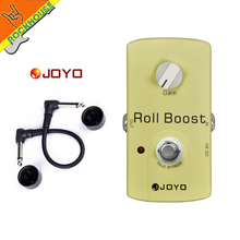 цена JOYO Clean boost guitar effect pedal clean booster stompbox low gain boost output energy Lighting the tone true bypass