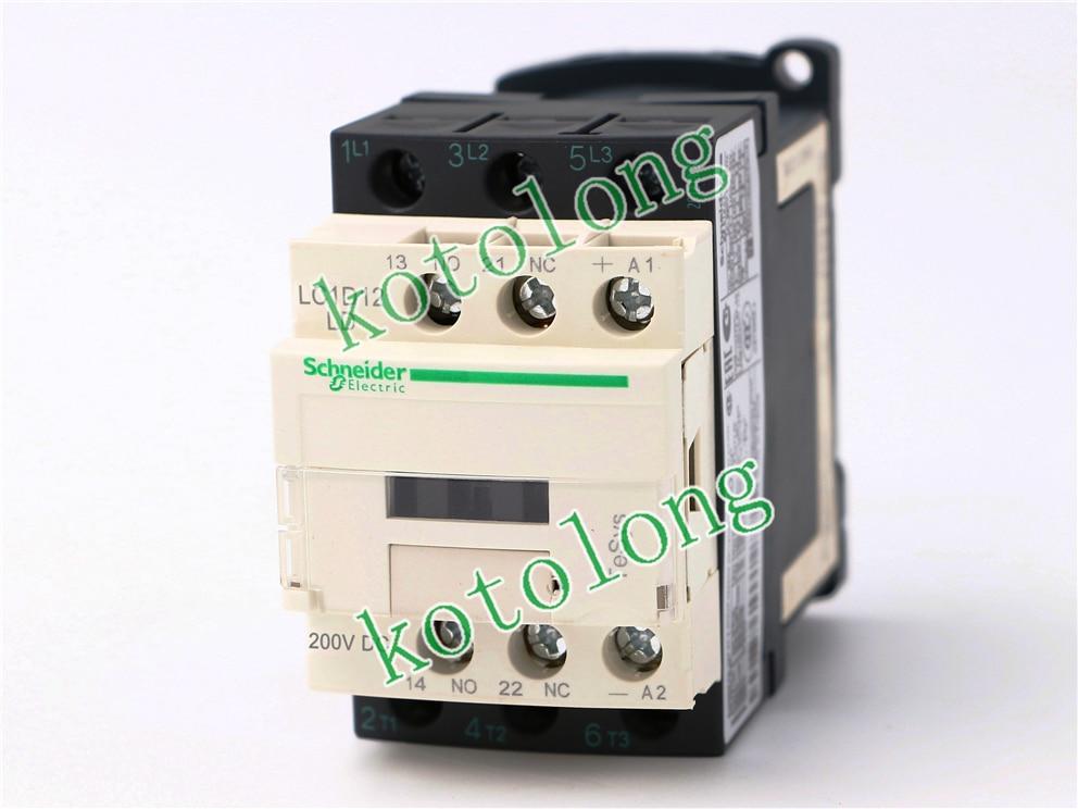 DC Contactor LC1D12 LC1D12LD LC1-D12LD 200VDC LC1D12MD LC1-D12MD 220VDC LC1D12ND LC1-D12ND 60VDC LC1D12PD LC1-D12PD 155VDC tesys k reversing contactor 3p 3no dc lp2k1201md lp2 k1201md 12a 220vdc lp2k1201nd lp2 k1201nd 12a 60vdc coil