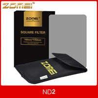 ZOMEi-filtro cuadrado de densidad neutra ND 2/4/150 para Cokin Z-PRO Series, 100x8/16mm