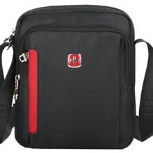 SCOGOLF плечо сумки для мужчин/crossbody сумки для мужчин/мужская сумка/водонепроницаемый мешок нейлона/SC5100 черный