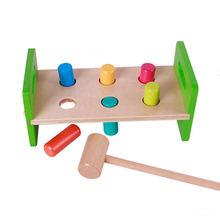 Музыкальный дневной и маленький колокольчик для детей деревянные