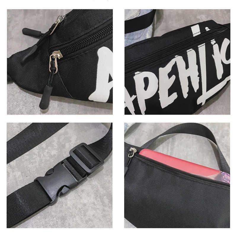 8c4cdfaf99d Women Waist Bag Letter Fanny Packs Travel Sling Chest Bag 2018 Hengreda  Shoulder Bag Female Belt Handbag Fashion Ladies Bum Bag