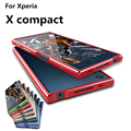 "Case For Sony Xperia X Compact Luxury Deluxe Ultra Thin aluminum Bumper For Sony Xperia X Compact 4.6"" case + 2 Film"