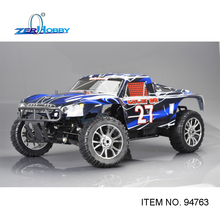 HSP RC CAR TOYS 1/8 4WD OFF ROAD REMOTE CONTROL NITRO GASOLINE SHORT COURSE 21CXP ENGINE SIMILAR HIMOTO REDCAT (ITEM NO. 94763)
