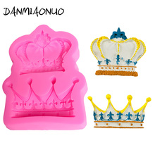 Crown Cake Mould Baking Tools For Cakes Soap Silicone Mold Cake Fondant Chocolate Mold Silicone Cake Decorating Set DIY A204761 цена и фото