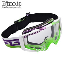BJMOTO MG-020-04-CL Motocross Motorcycle Goggles Moto Glasses Fox Racing Ski Goggles Windproof Mx Goggles Antiparras New