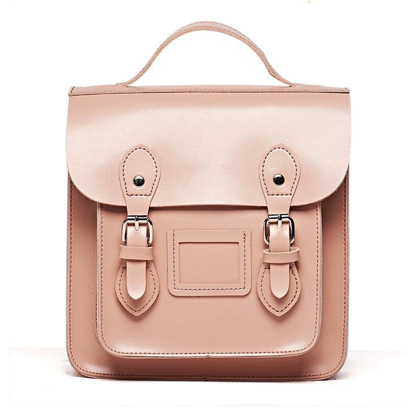 Marque Designer femmes sac à dos PU cuir ceinture cartable Mini petit sac d'adolescente pour l'école 2018 nouveau mode rétro sac à dos