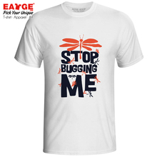 Stop Bugging Me T Shirt Funny Motto Pop Hip Hop Casual T-shirt Fashion Design Rock Unisex Men Women Top Tee