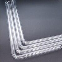 90 Barrow PMMA / PETG Hard Tube ( OD12mm / OD14mm / OD16mm ) + 2mm Thickness + 90 Degrees Bending Tube Transparent 4pcs/Lots (3)