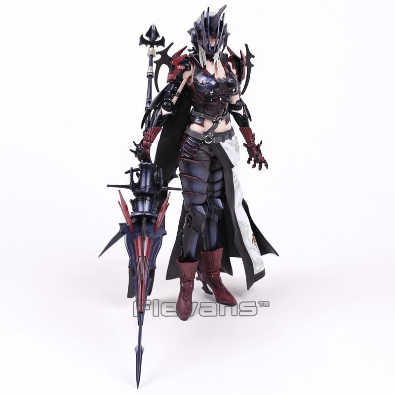 Genuine Original Play Arts Kai Final Fantasy XV 15 Aranea Highwind PVC Action Figure Collectible Model Toy 25cm