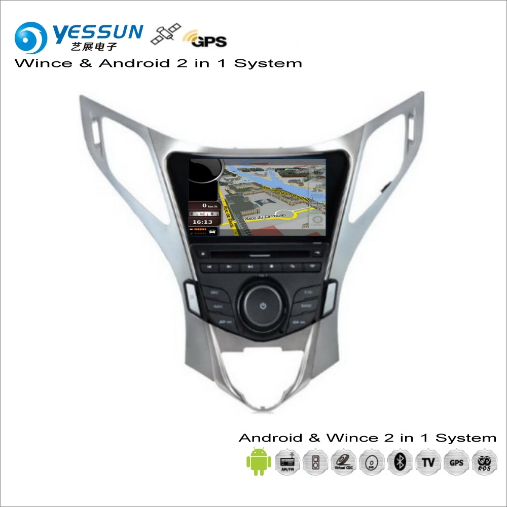YESSUN For Hyundai Azera / Grandeur 2011~2016 Car Android Multimedia Radio CD DVD Player GPS Navi Navigation Audio Video Stereo yessun for mazda cx 5 2017 2018 android car navigation gps hd touch screen audio video radio stereo multimedia player no cd dvd