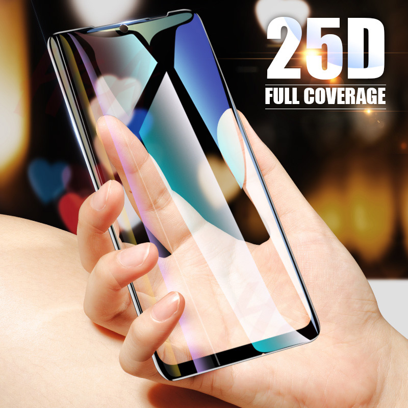 H&A 25D Curved Edge Protective Glass on the For Xiaomi Redmi 7 6 Pro 6A 4X 5 Plus Tempered Screen Protector Note 7 6 5 Pro Glass-in Phone Screen Protectors from Cellphones & Telecommunications