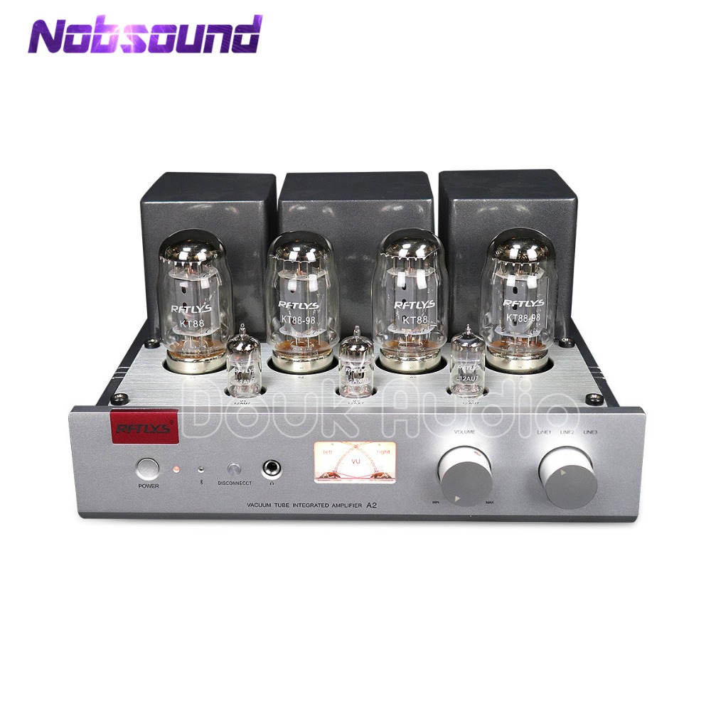 2018 Lastest Nobsound Hi-end Stereo Integrated KT88 Push-Pull Vacuum Tube Amplifier Stereo HiFi Headphone Amp 35W*2 music hall latest hi end kt88 el34 vacuum tube integrated amplifier stereo hifi 2 0 headphone power amp