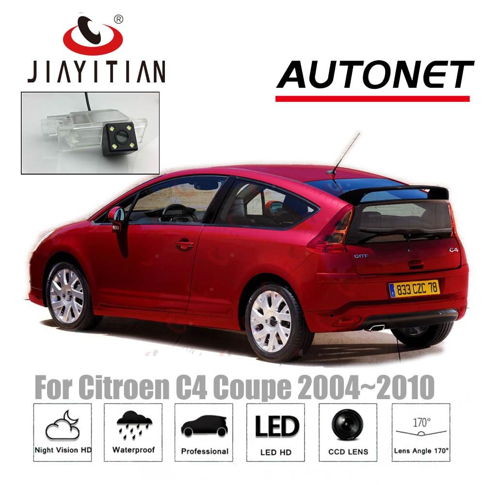 JIAYITIAN Rear View Camera For Citroen C4 Coupe 2004~2010 Night Vision/CCD Reverse Camera License Plate Camera Backup Camera