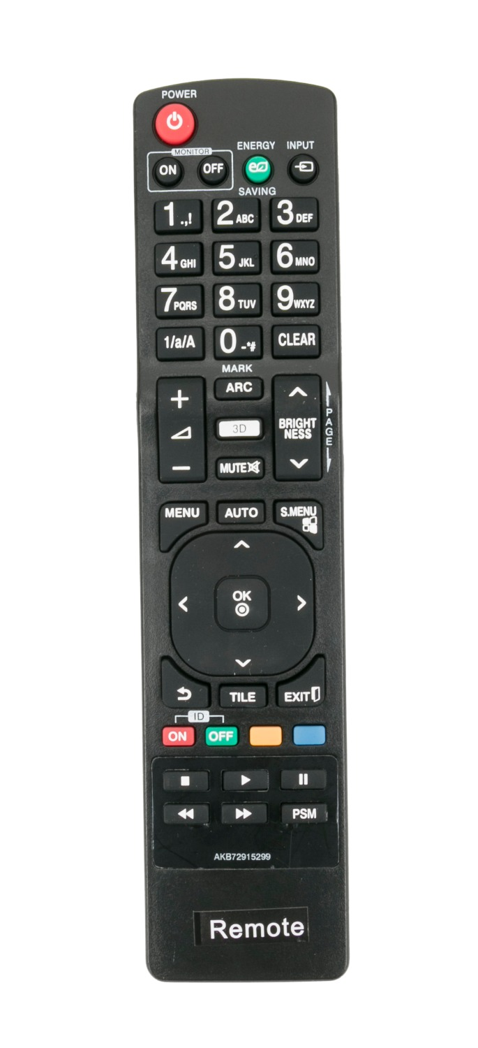 100% Quality New Remote Control Akb72915299 For Lg 3d Monitor Signage 55wv70mdbl 55wv70md Bl 55wv70md 55wv70md-bl