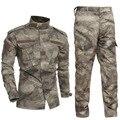 ATACS Camuflagem BDU militar Combate Uniforme Vestuário Terno Casaco + Calças