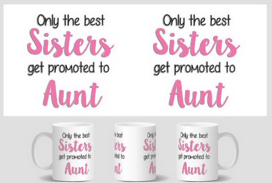 sister aunt Mug birthday gift cup home decal procelain tea cup ceramic coffee mugs tea mugs