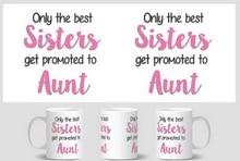 sister aunt Mug birthday gift cup home decal procelain tea cup ceramic coffee mugs tea mugs beer friend cups