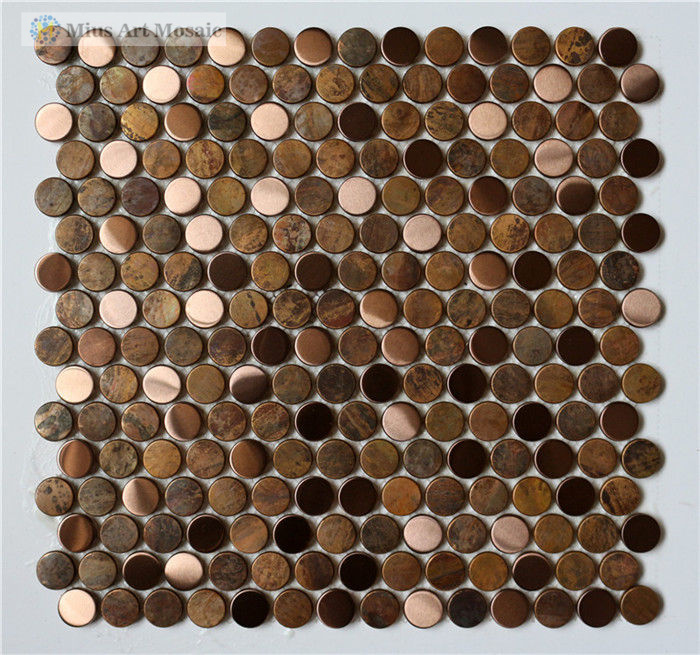Aluminium Vessels Hsn Code Circle Metal Tiles Penny Round Copper Backsplash A6yg89 On