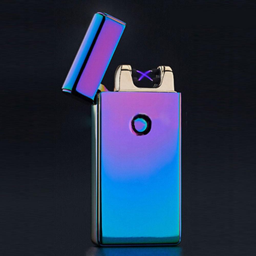 cigarette usb arc electronic plasma lighter isqueiro cigar aansteker windproof smoking gadgets fire starter electronicos