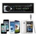 Qualidade superior Do Bluetooth Estéreo Do Carro De Áudio 1 DIN In-Dash FM Receptor de Entrada Aux SD USB MP3 Rádio Do Carro-Styling Nov 15