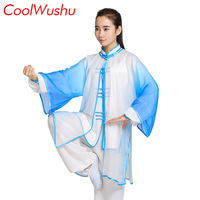 Tai chi clothing kung fu clothes spring and autumn uniform male and women 3 piece suit