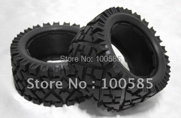 Внедорожные шины для внедорожников, 1/5 Baja 5B, 2 шт. пара задних шин для hpi km rv baja 5b ss, специальное предложение