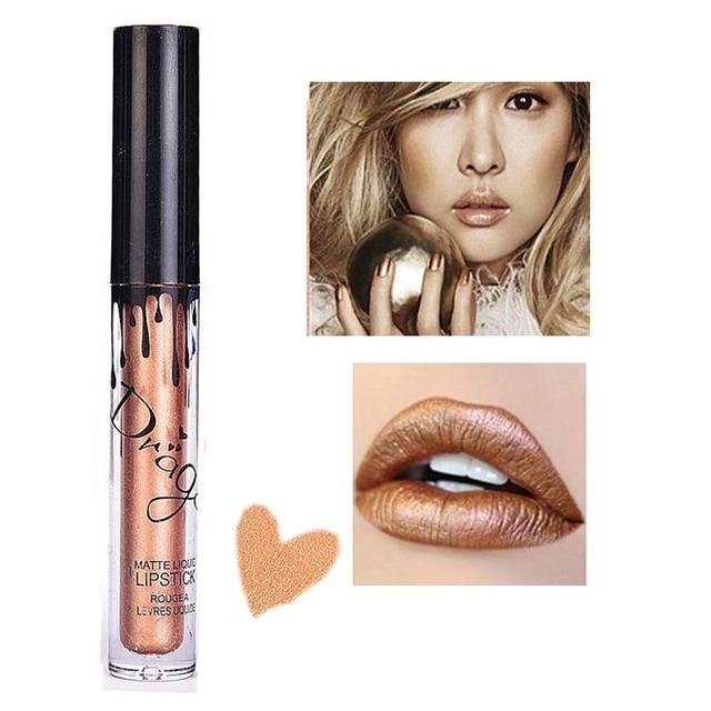 New Matte Lipstick Brand Makeup Nude lipstick Waterproof