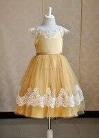 Meisjes tutu lace jurken kids bal grown kleding kinderen groothandel hot verkoop party/dance wear 5BF605DS-02 [Elf Verhaal]