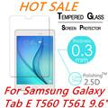 """For Samsung Galaxy Tab E T560 T561 9.6"""" 9H 2.5D 0.3mm Explosion-Proof Toughened Tempered Glass Film Clear Screen Protect Cover"""