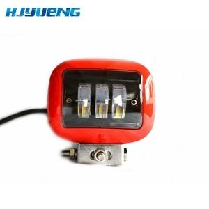 Image 2 - 30W Square Flood LED Work Light Bar Lamp For Car Offroad 4x4 ATV Truck Tractor SUV Vehicle 30w LED Work Light Flood 12 24V