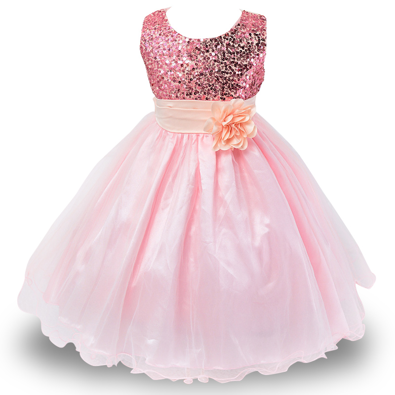 Summer Flower Girl Dresses For Little Girl School Wear Children Wedding Holiday Clothing Kids Party Dresses For Girl 8 10T 8