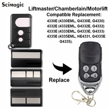 Chamberlain Liftmaster 4410 4410E 4410E 4335E ML Replacement Remote Control Garage Gate  цены