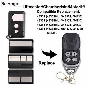 Image 1 - 2 pcs Chamberlain Liftmaster 4410 4410E 4410E 4335E ML Replacement Remote,Liftmaster 4335E garage command 433.92mhz key fob
