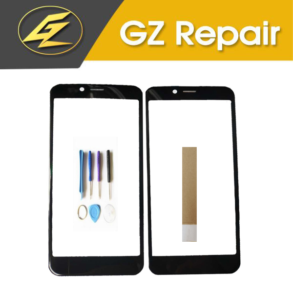 5.0 Inch For Vertex Impress Click Touch Screen Glass Lens Digitizer Front Outer Glass Sensor Replacement With Tools Tape